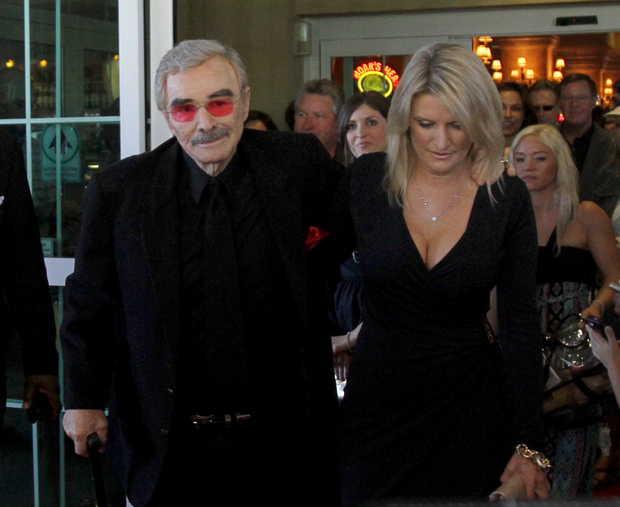 Burt Reynolds & Paula Lindsay